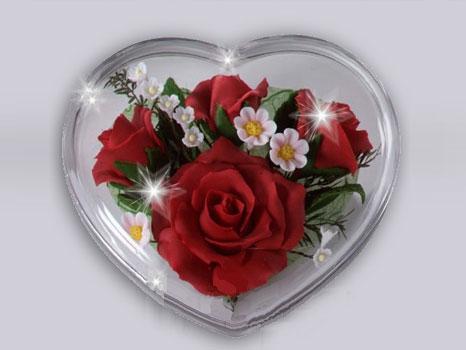 Sevdiğinizin kalbinin kapısını aralamak için çiçekten gülden